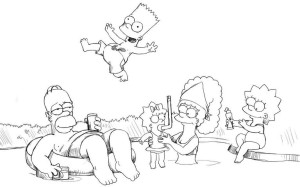 Как-нарисовать-Гомера-карандашом-поэтапно-5