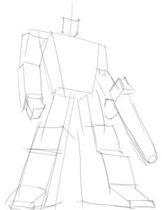 Как-нарисовать-Оптимуса-Прайма-карандашом-поэтапно-1