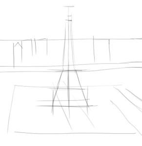 Как-нарисовать-Париж-карандашом-поэтапно-1