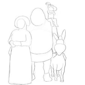 Как-нарисовать-Шрека-карандашом-поэтапно-3