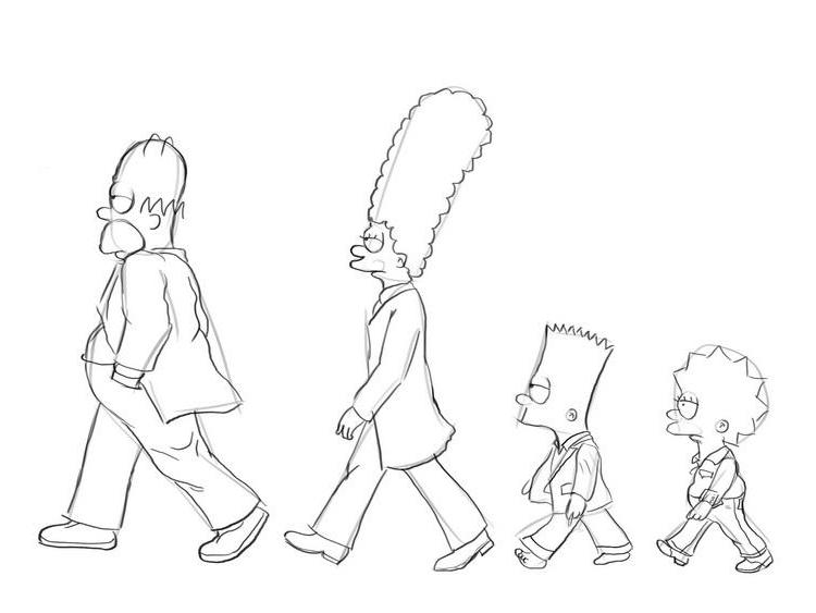 Как нарисовать Симпсонов