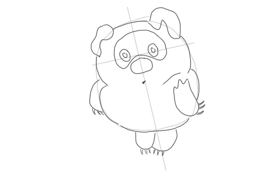 Как нарисовать Винни Пуха