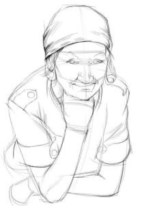Как-нарисовать-бабушку-карандашом-поэтапно-2