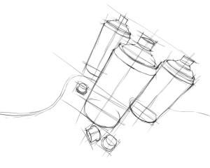 Как-нарисовать-баллончик-краски-карандашом-поэтапно-2