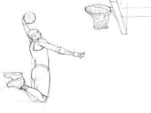 Как-нарисовать-баскетболиста-карандашом-поэтапно-3