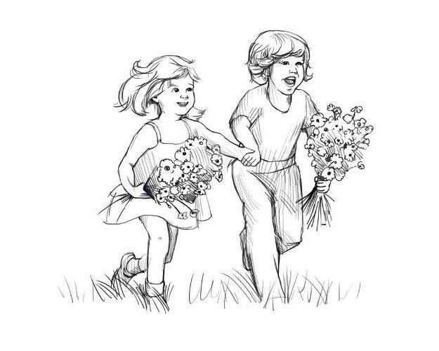 Как нарисовать детство?