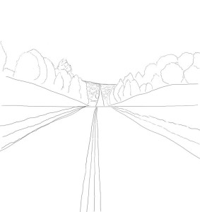 Как-нарисовать-дорогу-карандашом-поэтапно-3