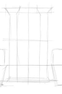 Как-нарисовать-дверь-карандашом-поэтапно-1