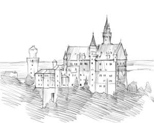 Как-нарисовать-дворец-карандашом-поэтапно-5