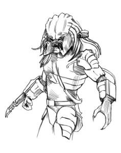 Как-нарисовать-хищника-карандашом-поэтапно-4