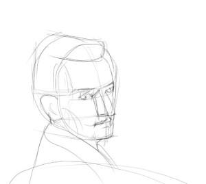 Как-нарисовать-художника-карандашом-поэтапно-2