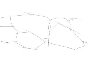 Как-нарисовать-камни-карандашом-поэтапно-1