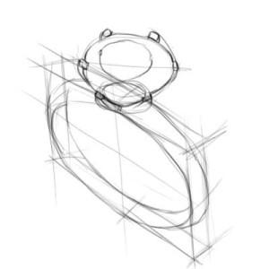 Как-нарисовать-кольцо-карандашом-поэтапно-2
