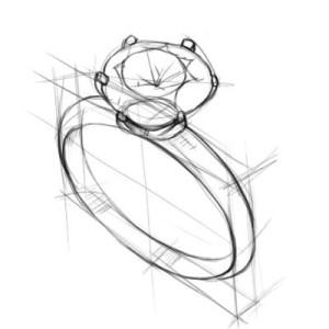 Как-нарисовать-кольцо-карандашом-поэтапно-3