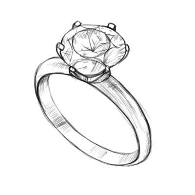 Как нарисовать кольцо?