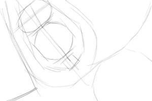 Как-нарисовать-компас-карандашом-поэтапно-1