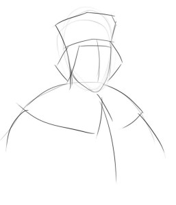 Как-нарисовать-короля-карандашом-поэтапно-2