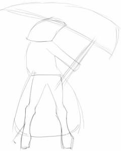 Как-нарисовать-косу-карандашом-поэтапно-1