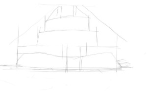 Как-нарисовать-крепость-карандашом-поэтапно-2