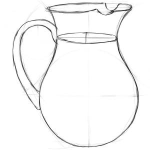 Как-нарисовать-кувшин-карандашом-поэтапно-4