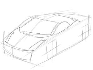 Как-нарисовать-ламборджини-карандашом-поэтапно-2