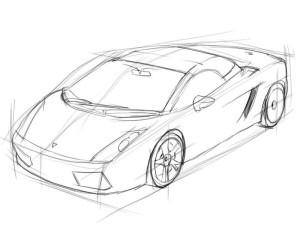Как-нарисовать-ламборджини-карандашом-поэтапно-3