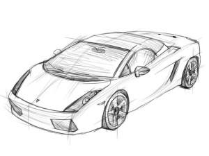 Как-нарисовать-ламборджини-карандашом-поэтапно-4