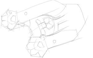 Как-нарисовать-лапы-карандашом-поэтапно-2