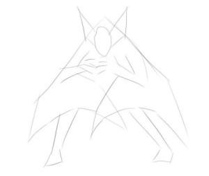Как-нарисовать-летучую-мышь-карандашом-поэтапно-1