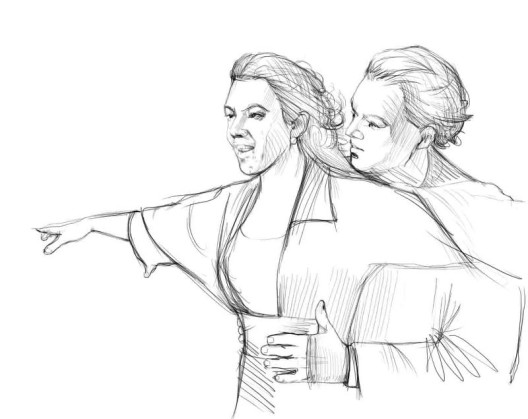 Рисунки карандашом про любовь поэтапно