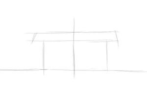 Как-нарисовать-магазин-карандашом-поэтапно-1