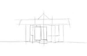 Как-нарисовать-магазин-карандашом-поэтапно-2