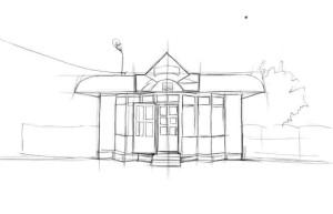 Как-нарисовать-магазин-карандашом-поэтапно-3