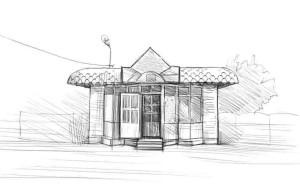 Как-нарисовать-магазин-карандашом-поэтапно-4