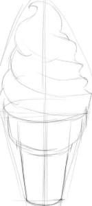 Как-нарисовать-мороженое-карандашом-поэтапно-2