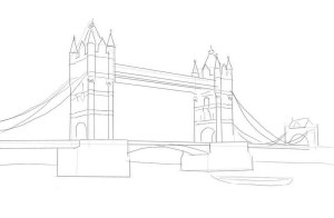 Как-нарисовать-мост-карандашом-поэтапно-3