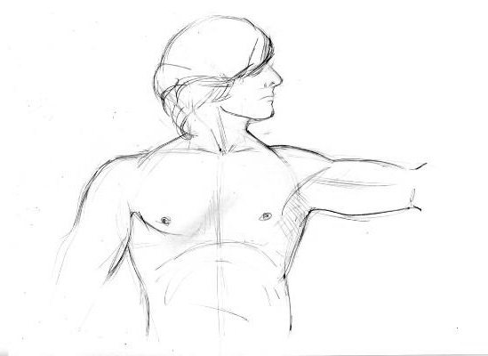 Как нарисовать мужчину