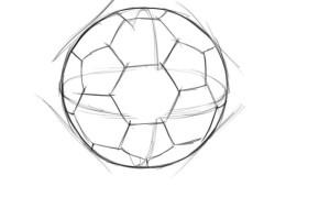Как-нарисовать-мяч-карандашом-поэтапно-3