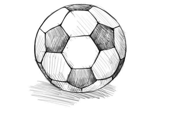 Как нарисовать мяч?