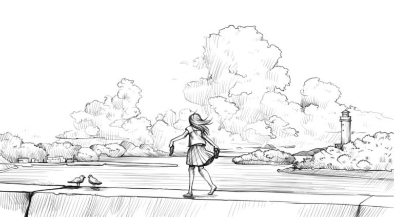 Как нарисовать облака