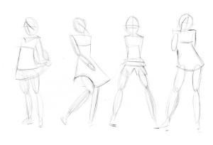 Как-нарисовать-одежду-карандашом-поэтапно-2