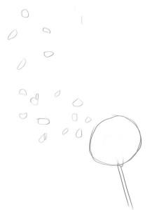 Как-нарисовать-одуванчик-карандашом-поэтапно-1