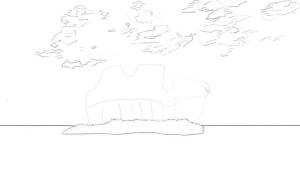 Как-нарисовать-остров-карандашом-поэтапно-2