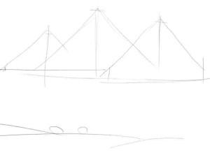 Как-нарисовать-пирамиду-карандашом-поэтапно-1