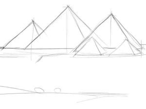 Как-нарисовать-пирамиду-карандашом-поэтапно-2