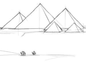 Как-нарисовать-пирамиду-карандашом-поэтапно-3
