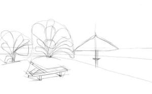 Как-нарисовать-пляж-карандашом-поэтапно-2