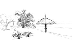 Как-нарисовать-пляж-карандашом-поэтапно-3