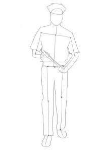 Как-нарисовать-полицейского-карандашом-поэтапно-2