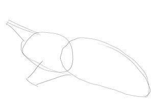 Как-нарисовать-ракету-карандашом-поэтапно-1